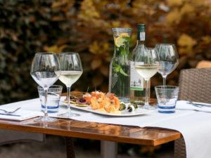 food, wijn