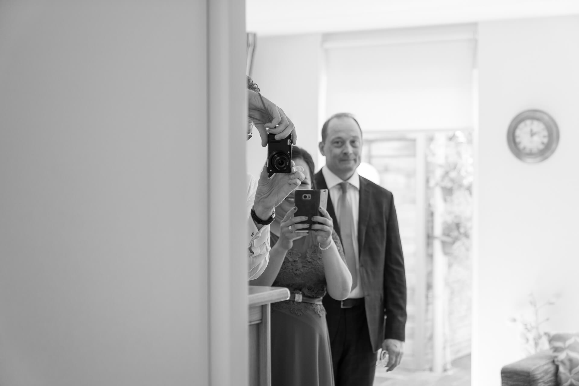 eerste blik bruid